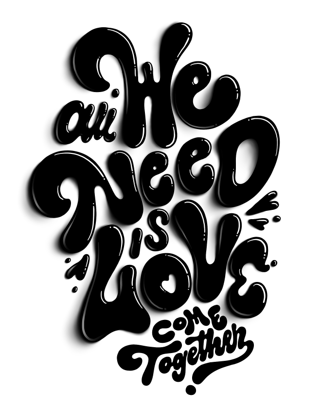 All we need is <3